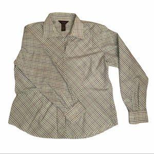 4/$25 - VAN HEUSEN Women's Button-Up Blouse XL